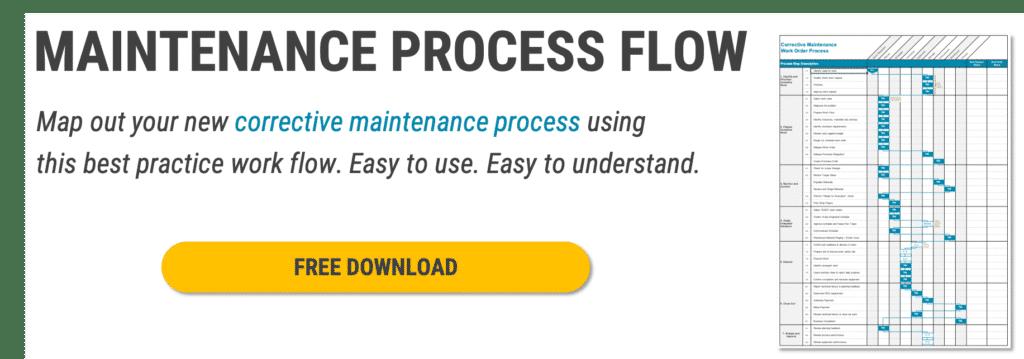 maintenance process flow