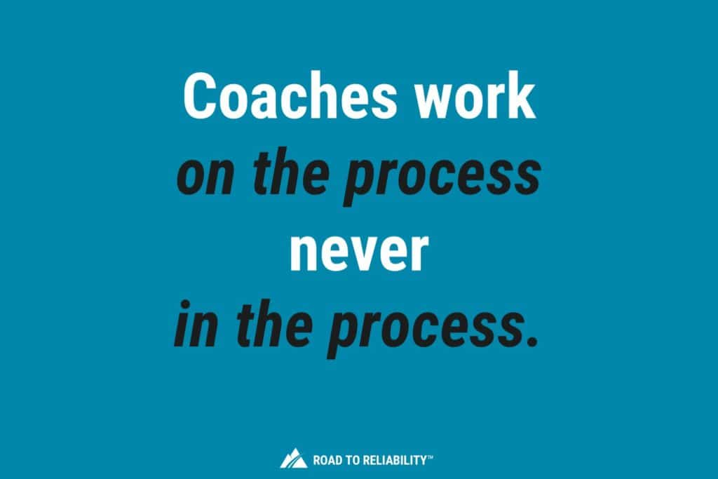 Implement Maintenance Planning and Scheduling with Coaches