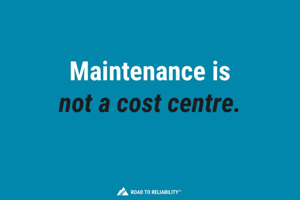 good maintenance strategy adds to the bottom line